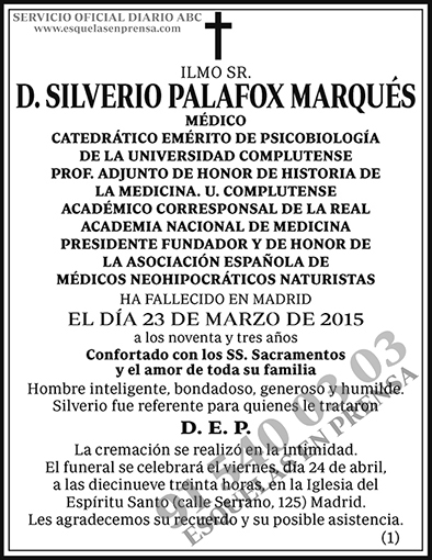 Silverio Palafox Marqués